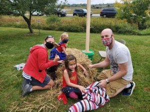 Scarecrow Contest presented by El Paso County Parks at Fountain Creek Nature Center, Fountain CO