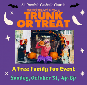 Trunk or Treat presented by St. Dominic Catholic Church at ,