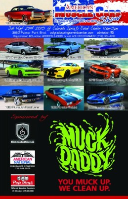 American Muscle Car Show Presented By Colorado Springs Event Center