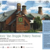 Historic Van Briggle Pottery Festival presented by Woman's Educational Society at ,