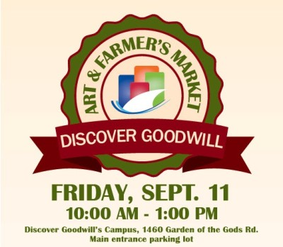 discover goodwill s art and farmer s market presented by discover