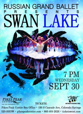 Russian Grand Ballet presents SWAN LAKE presented by Pikes Peak Center for the Performing Arts at Pikes Peak Center for the Performing Arts, Colorado Springs CO