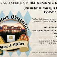 Bavarian Oktoberfest presented by Colorado Springs Philharmonic Guild at The Pinery at the Hill, Colorado Springs CO