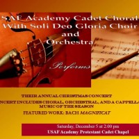 Christmas Concert presented by Soli Deo Gloria Community Choir at Air Force Academy Cadet Chapel, USAF Academy CO