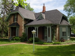 McAllister House Museum located in Colorado Springs CO