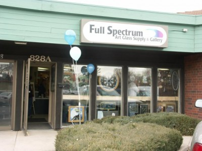 Full Spectrum Art Glass Supply & Gallery located in Colorado Springs CO